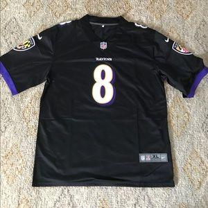 Brand New Nike Stitched Ravens Lamar Jackson